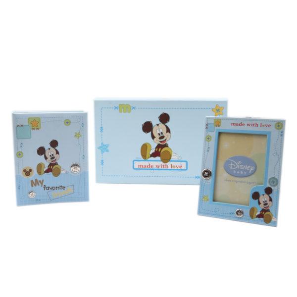 Παιδικό Σετ Άλμπουμ και Κορνίζα Disney Mickey Mouse